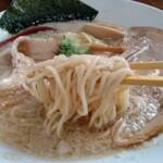 麺屋 愛心 - 料理写真:金色みぞれチャーシューメンの麺