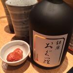 おでん 和食 銀座おぐ羅 - 麦焼酎