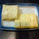 Misaki - 卵焼き。350円! 甘めで最高に美味しいです