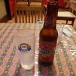 ロイヤル ナン カレー - ドリンク写真:インドビール