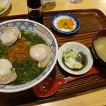 お食事処 十府ヶ浦 - ぶっかけ丼 ¥900
