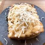 イッチ カワラ コーヒー ラボ - 生ハムチーズトースト