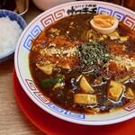 121574791 - 麻婆咖喱麺(950円)+ライス(サービス)