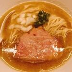 ラーメンバル ゆきかげ - 濃厚煮干し鶏そば醤油850円)