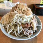 立川マシマシ ロイヤルスープ - 小ラーメン 野菜マシ アブラマシ