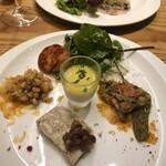 魚タリアン YO - 前菜。