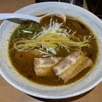 中華そば いちかばちか - ストレート中細麺
