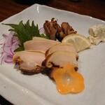 水炊き・炙り焼・鳥料理 博多華味鳥 - 鶏の燻製