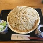 多聞 - 料理写真:深大寺そば大盛