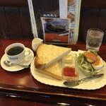 仏蘭西亭 - 料理写真:トーストモーニングセット540円