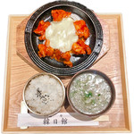 トッカルビ御膳(7種おかず付き)