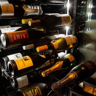 如月在中のソムリエがワインと日本茶にこだわり厳選セレクト