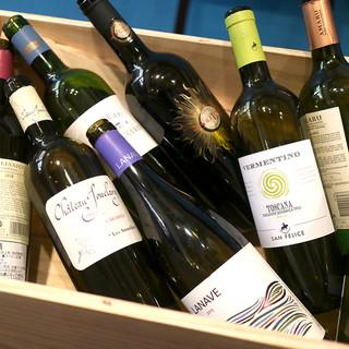 ワイン好きならボトルがお得