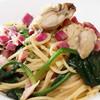 森の中のレストラン こどう - 料理写真:牡蠣とねぎ、ほうれん草のパスタ