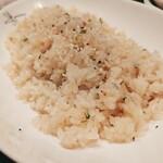 鳥王 - ブルーチーズの焼メシ 780円