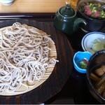 12160452 - 地鶏蒸籠とミニネギトロ丼セット980円
