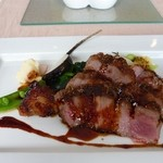 レストラン マサヒロ・ニシムラ - お昼のコース(この日のメインデッシュ)