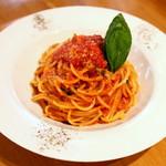 大衆イタリアン酒場 ばくりこ - トマトバジルパスタ