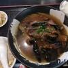 龍艶閣 - 料理写真:ランチ 麻婆茄子麺 750円