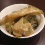 麻婆豆腐TOKYO - 搾菜
