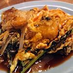 121607158 - 牡蠣と青菜の玉子炒め(850円)