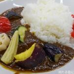 谷村パーキングエリア(上り) フードコート - 野菜カレー