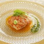 ヴィーナスコート 佐久平 - 松代産長芋の包み焼きワサビとポン酢ソース