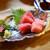 酒蔵 ゴエモン - 料理写真:長崎県五島列島直送 生本まぐろ刺身 ¥799
