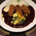 M&C Cafe - カキフライ・ハヤシライス