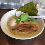 やま辰 - 20180415鶏白湯しょうゆ,やま辰(愛知県岡崎市)食彩品館撮影