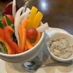 121623289 - 彩り野菜スティック