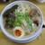 麺屋 白神 - 信州味噌 大盛り