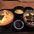 カツ丼 野村 - ドミグラスソースかつ丼と卵とじかつ丼 ロース孫膳 この二つのお丼で、一杯分なんだそうです♪
