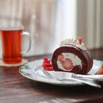 夏空 - 2019年12月再訪:苺のショコラロール☆