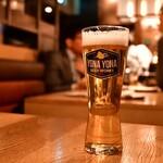 YONA YONA BEER WORKS - 軽井沢高原ビール 冬限定(レギュラー)@830円