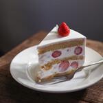 アムヌウ - 苺のショートケーキ☆