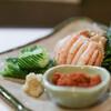 割烹 ほその - 料理写真:カニ酢(せいこガニ)☆
