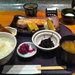 魚魯魚魯 - 【鯖の胡麻味噌焼御膳…1,200円】2012/3