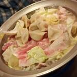 東心斎橋 ほおずき - ゆず塩麹出しもつ鍋