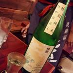 東心斎橋 ほおずき - 神開 ひやおろし 特別純米 秋酒(滋賀)