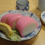 薮きん - 料理写真:板ワサ¥600