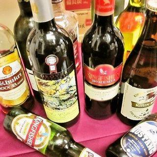 豊富なインド・ネパールのアルコール!!