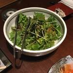 鳥どり -  塩レモンチョレギサラダ