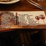 ワイン食堂 がっと -