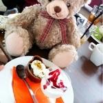KUMA Cafe - ♥ランチのデザート♥