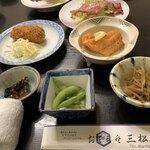 三松会館 - 料理写真:最初のセット