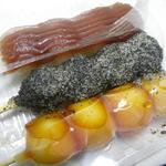 和菓子処 ふじ - 団子の餡子が美しい