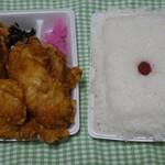 おふくろ弁当 - 料理写真:唐揚げ弁当大盛!
