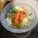 豊受オーガニクスレストラン - 野菜サラダ