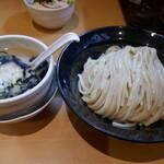 麺堂 稲葉 - 鶏磯つけめん大盛り1,020円
